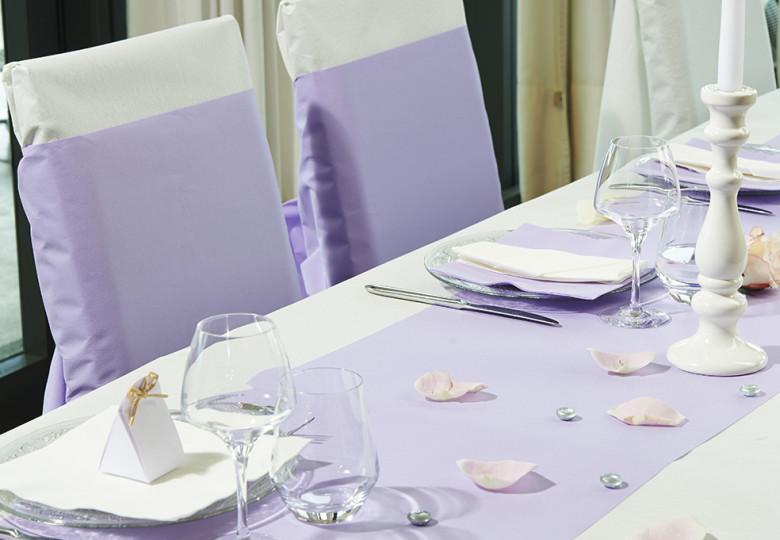 Photo d'illustration table de mariage Le Nappage