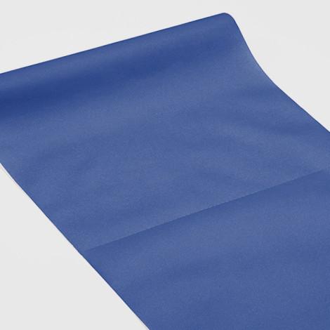 Chemin de table 3 en 1 bleu nuit, servant également à habiller les vis-à-vis et de set de table qualité réception.