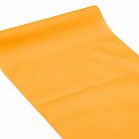 Chemin de table 3 en 1 orange mandarine , servant également à habiller les vis-à-vis et de set de table qualité réception.
