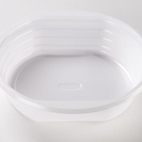 Coupelle ronde de couleur blanche