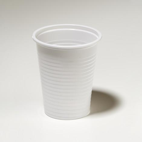 Gobelet en plastique 20cl blanc