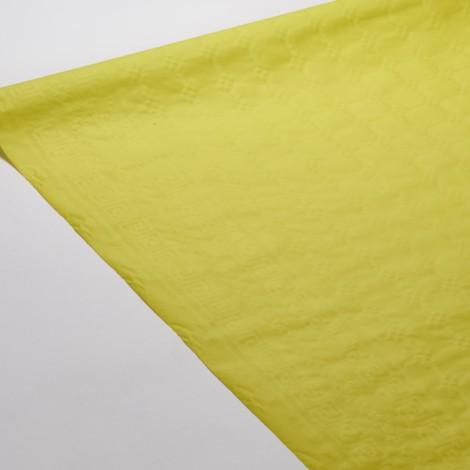 Nappe de couleur kiwi, pour habiller vos tables d'une couleur vitaminée.