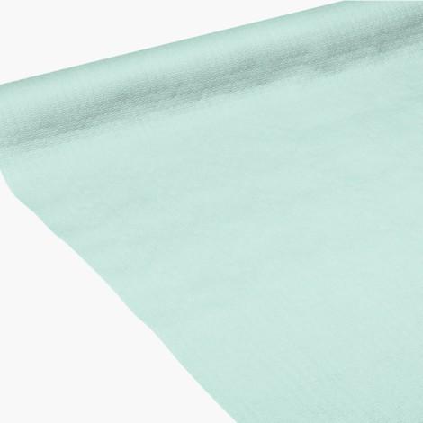 Nappe en papier aqua gaufrée, en gaufrage profond pour plus de souplesse.