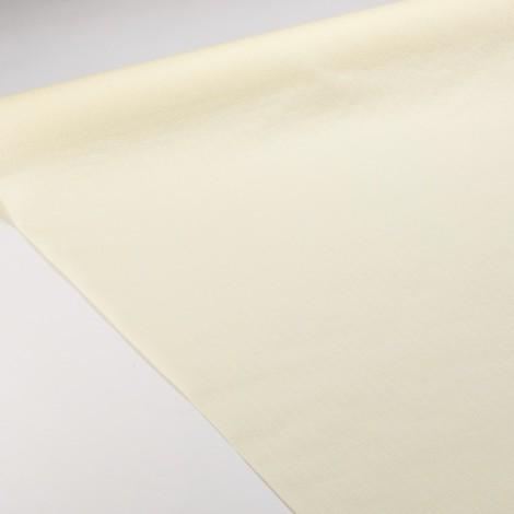 Nappe en papier de couleur crème gaufrée