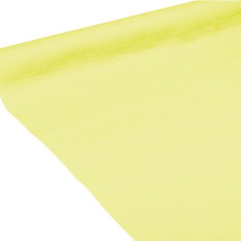 Nappe en papier de couleur kiwi en gaufrage profond.