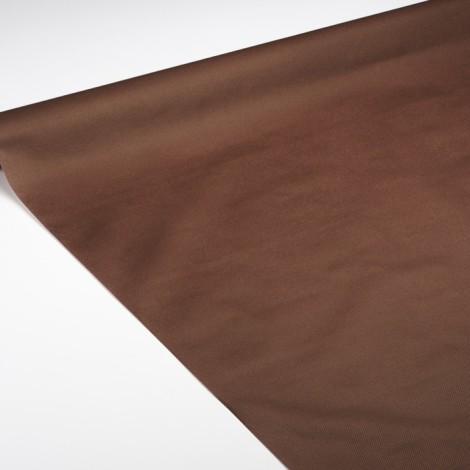 Nappe de qualité réception de couleur chocolat, pour une ambiance ambiance gourmande et cosy.