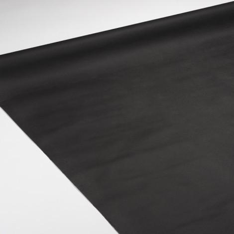 Nappe de réception de couleur noire pour dîner chic et élégant