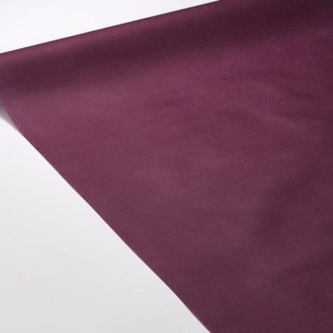 Nappe de réception de couleur prune, idéale pour une ambiance glamour et élégante