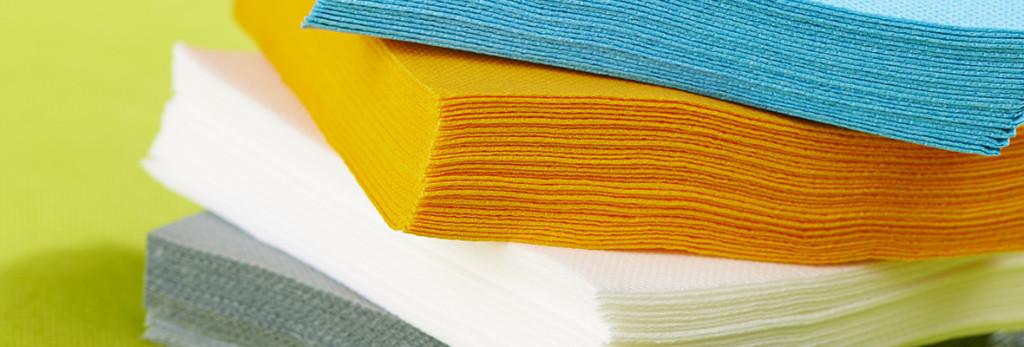 Serviettes papier ouate microgaufrée