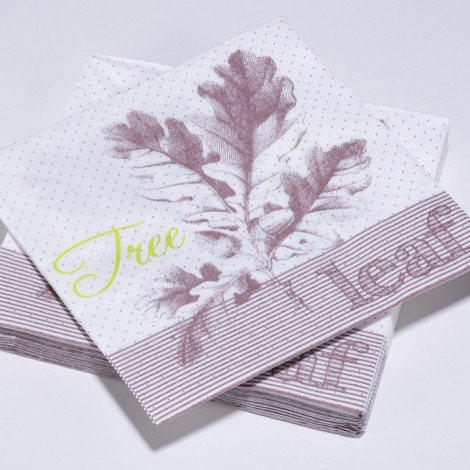 Serviettes en papier Tree Leaf Nature