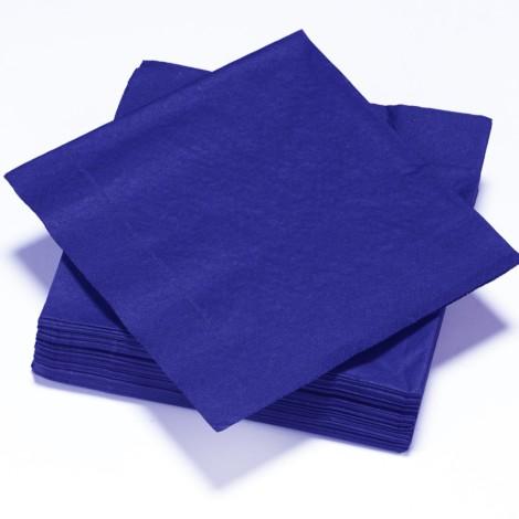 Serviettes épaisses couleur bleues nuit
