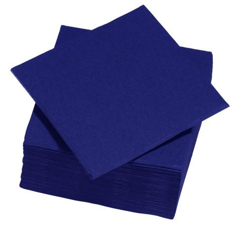 Serviettes, bleu nuit