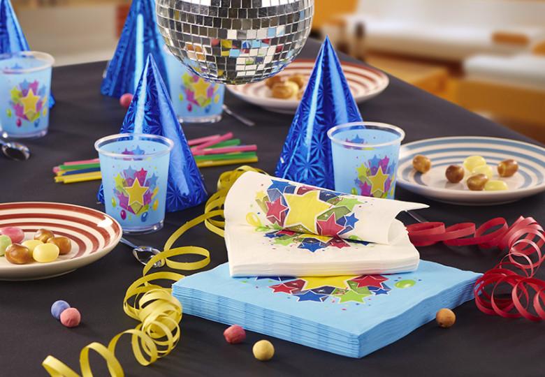 Photo d'illustration table d'anniversaire enfantLe Nappage