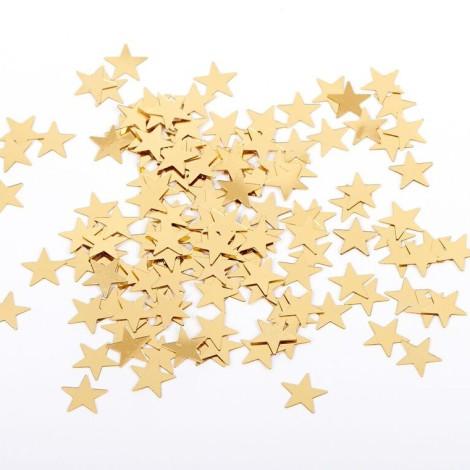 Confettis en forme d'étoile or