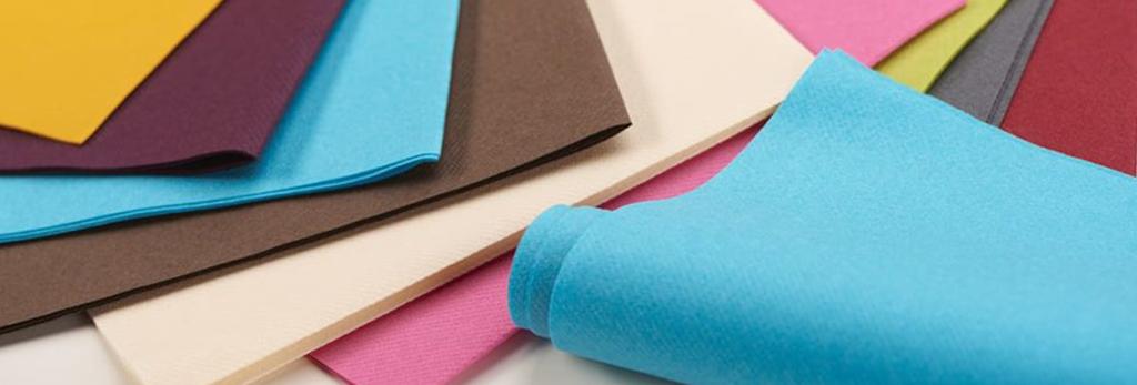 Serviettes papier airlaid couleur